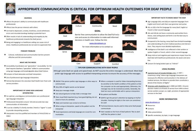 deafhealthcareteamposter2017
